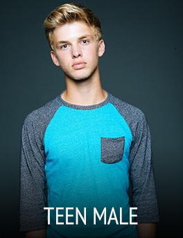 Gage Model and Talent Teen Male Models and Actors